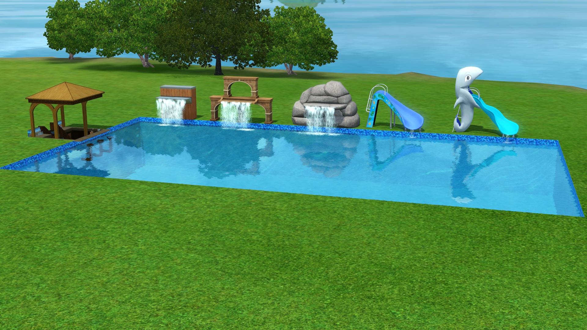 Zwembad 4 bij 3 fauteuil 2017 - Ontwikkeling rond een zwembad ...